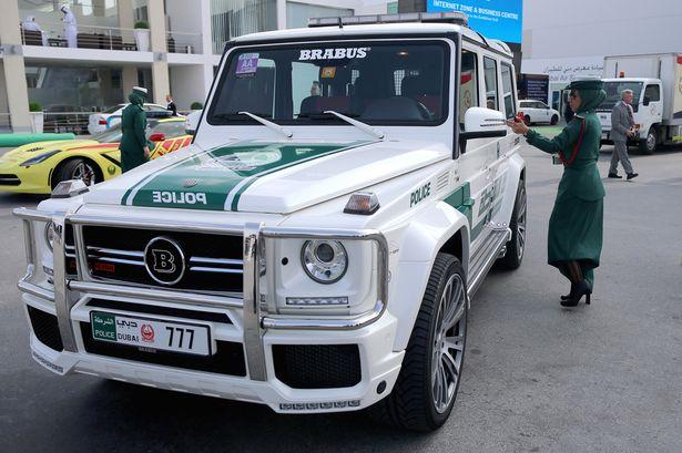 Dubai Police Car Accident Check