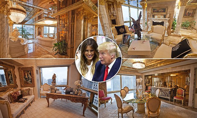 Peep The Insides Of Donald Trump S 100m Penthouse