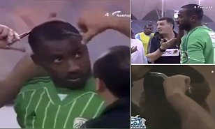 "A FOOTBALLER in Saudi Arabia was forced to have a humiliating haircut before a game due to the country's crackdown on ""un-Islamic hairstyles"" in the sport. Footage obtained by Agence France Presse shows Waleed Abdullah, a goalkeeper for Al Shabaab and Saudi Arabia, having a small mohawk chopped off by the referee before being allowed onto the pitch."