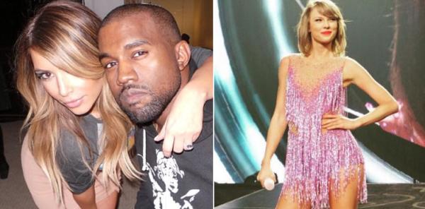 Kim-Kardashian-Kanye-west-Taylor-Swift