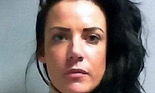Joylene Cunningham from York, North Yorks., has been jailed for 2 and a half years for slashing her boyfriends face. See Ross Parry story RPYSLASH : A Stephanie Davis look-a-like has been caged after slashing her boyfriend's face from his mouth to his ear as she saw him kissing and cuddling another woman, a court heard. Joylene Cunningham, 30, used either a razor blade or Stanley knife to slash her boyfriend Sean Harman's face - requiring him needing 18 stitches. York Crown Court heard that a scorned Cunningham, who looks like the doppelganger of former Hollyoaks beauty Stephanie Davis, had told the court that she thought the slash was caused from a ring. But when her ring was examined - it was found the ring to blunt. 10 July 2016.