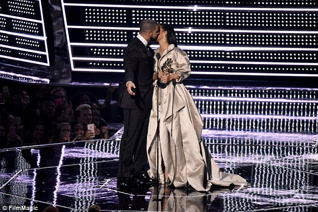 His number one no longer: Despite the Controlla rapper publicly declaring his love for Rihanna at the MTV Music Awards star in August and them sharing matching tattoos, the pair have reportedly gone their separate ways - again