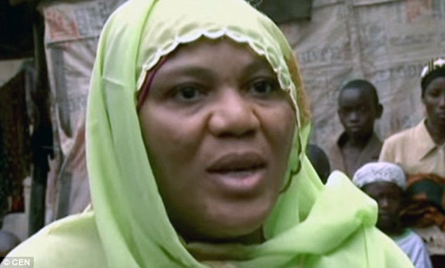 Third wife: Hajiah Hasfat Bello defended her husband when his controversial string of marriages brought him into the public eye