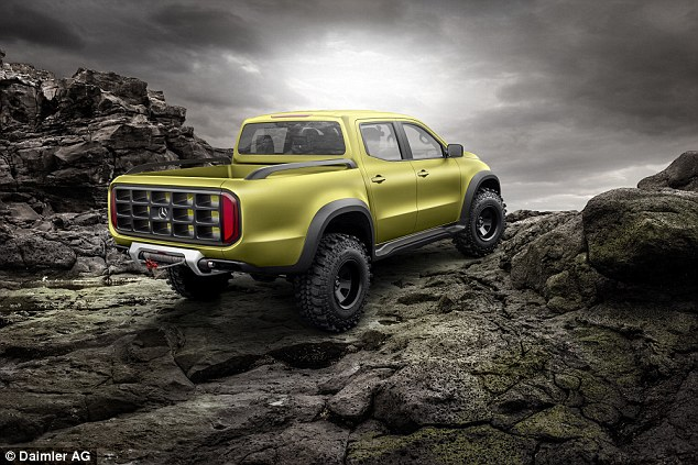 +13 The X-Class Powerful Adventurer looks more extreme than Mercedes' US military-derived G-Wagon