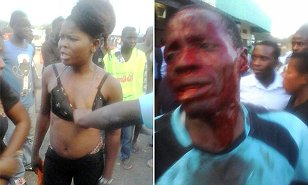 """Pic shows: Chipo, the prostitute.nnA prostitute whacked a customer on the head with a beer bottle after he put his hands on her breast, and then asked if he could pay for sex with a boiled egg.nnThe man told her he had just spent the last of his money on buying two boiled eggs costing 25 cents each. He had already eaten one when he spotted the woman offering sex on the side of the road in the town of Mvurwi in Mashonaland Central province in Zimbabwe.nnBut when Moses Mushonga asked about the price, the woman flew into a rage when he suggested he pay using his remaining boiled egg. She had hit him with the beer bottle, and then punched him in the face knocking him flat for good measure.nnThe attack by the furious 23-year-old, identified only by the name Chipo, left the 28-year-old victim bleeding heavily from his head.nnHe was quoted in local media saying: """"She could have just said no.""""nnThe woman meanwhile said that she had acted the way she did because the man needed to be taught a lesson in respect.nn(ends)nn"""