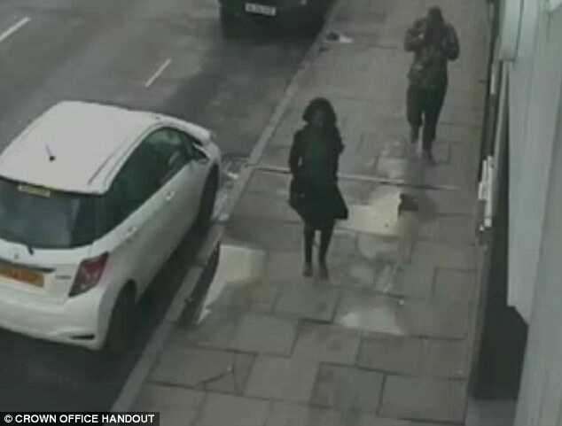 CCTV footage showed she had travelled to Chinda's student accommodation in the city's King Street with him in a taxi before they returned to her apartment a short time later, where she was found dead the following day