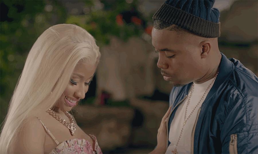 Nicki Minaj Admits That Shes Dating Rapper Nas And Shes Giving Him Blue Balls