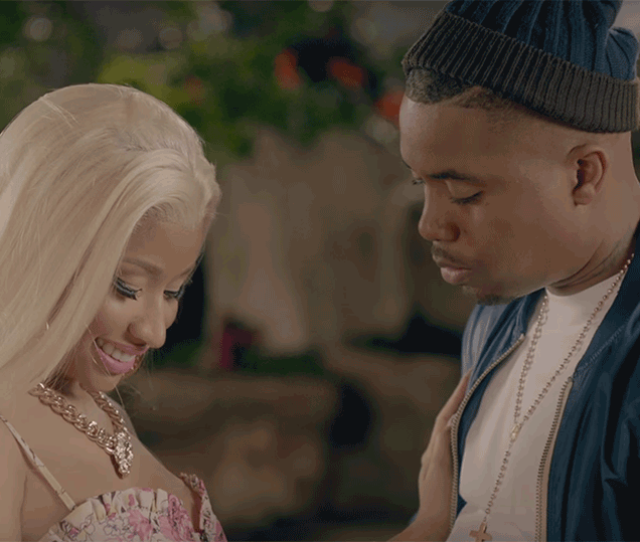 Nicki Minaj Admits That Shes Dating Rapper Nas And Shes Giving Him Blue Balls