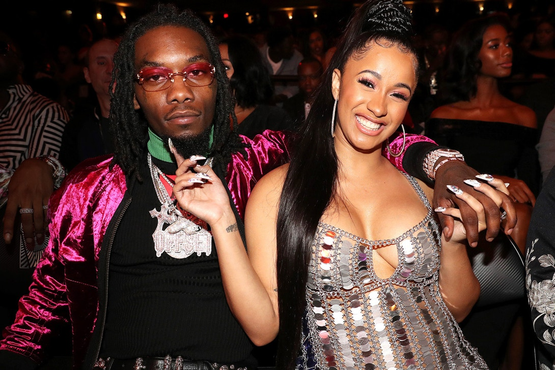 Cardi B 'bout To Give Birth To A Migos Baby